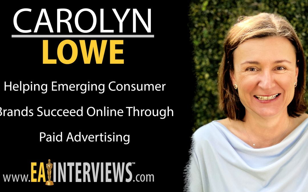Helping emerging consumer brands succeed online through paid advertising with CEO & Co-Founder of ROI Swift Carolyn Lowe on Episode #0177