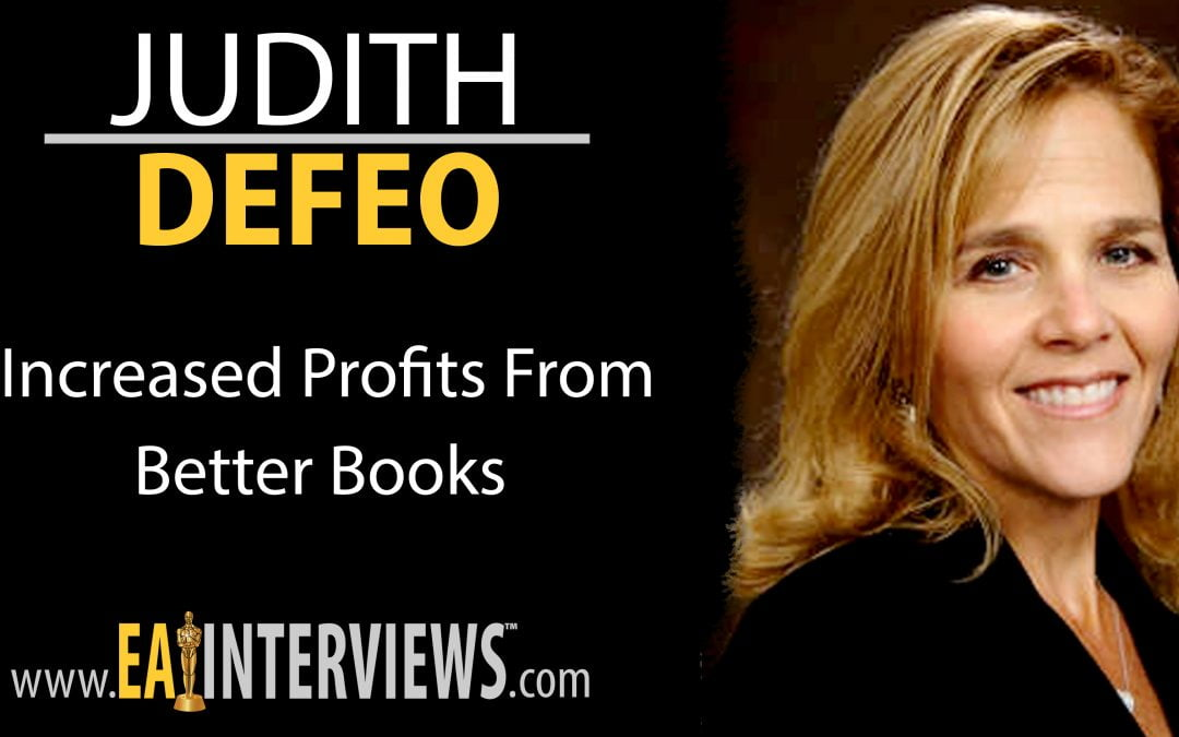 Increased Profits From Better Books with Judith Defeo on Episode #0182
