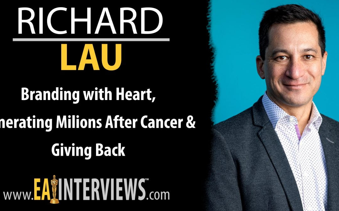 Branding with Heart, Generating Milions After Cancer & Giving Back with Logo.com CEO Richard Lau on Episode #0267
