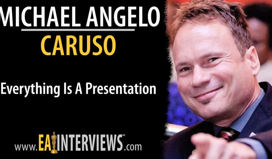 Everything is a Presentation with Michael Angelo Caruso on Episode #0135